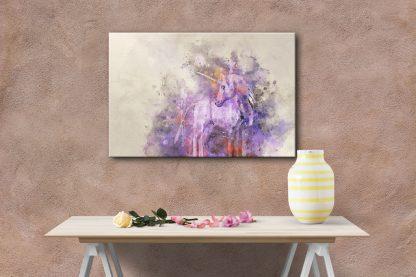 unicorn canvas wall